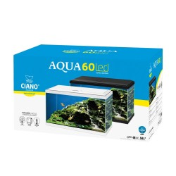 Aquarium 60 LED 58L Ciano
