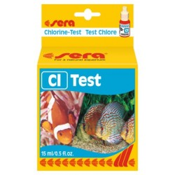 Chlorine Test 15ml, Sera
